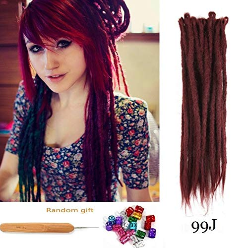 DSOAR Synthetic Handmade Dreadlocks Extensions product image