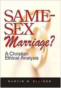 Same sex marriage christian