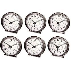 Westclox Baby Ben 11611Q Battery Operated Alarm Clock - Quantity 6
