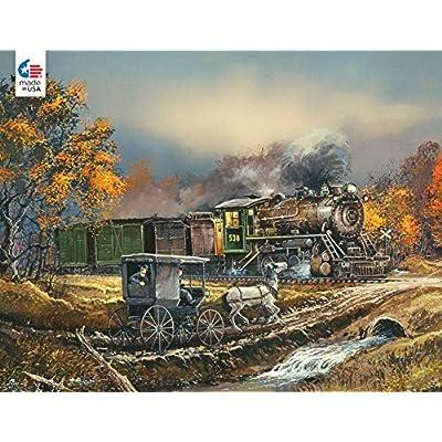 Blaylock - Amish Train Puzzle - 750 Pieces: Toys & Games