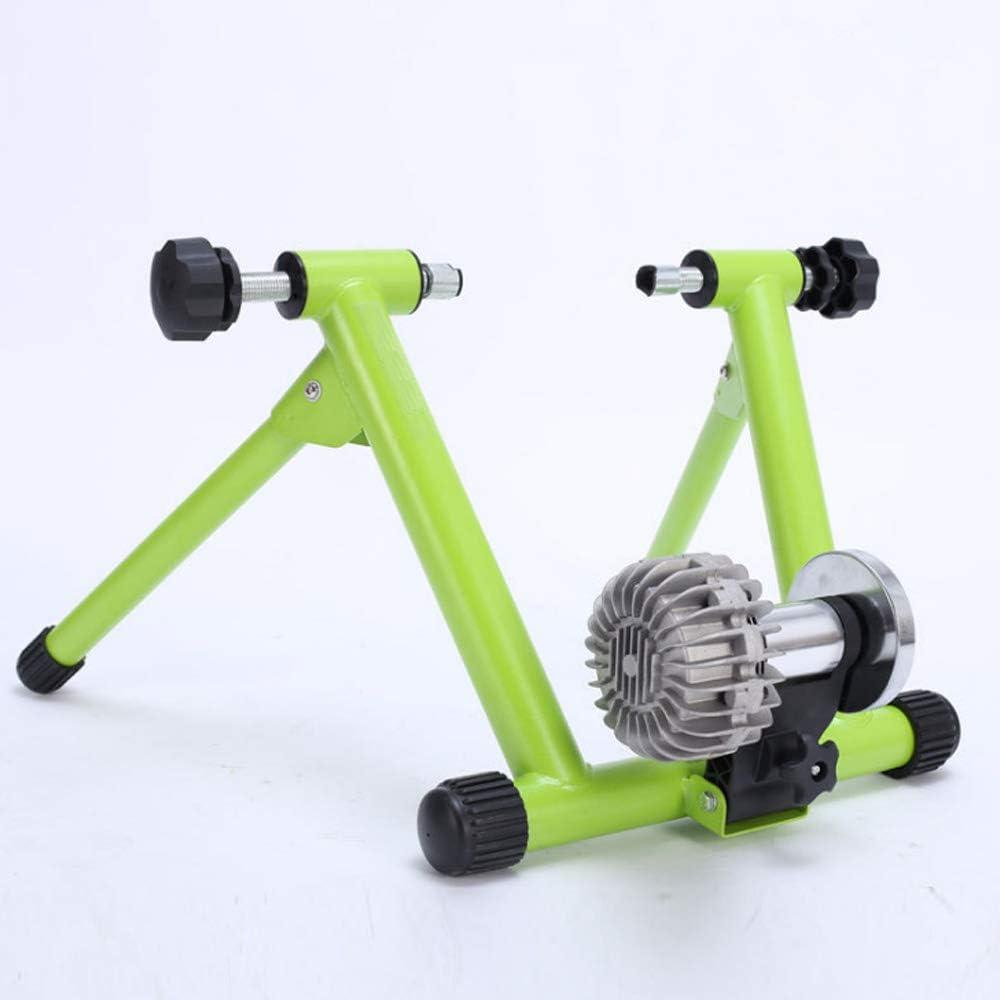 AX Magnético del Soporte de Ciclismo, la Resistencia del Fluido a Caballo Plataforma Plegable Bicicletas Trainer Trainer Soporte de la Bici para Bicicletas de Carretera y de montaña