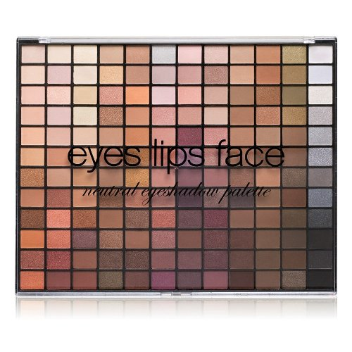 e.l.f. 144 Piece Eyeshadow Palette, Neutral, 3.05 Ounce
