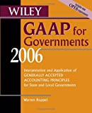 Wiley GAAP for Governments, Warren Ruppel, 0471726931