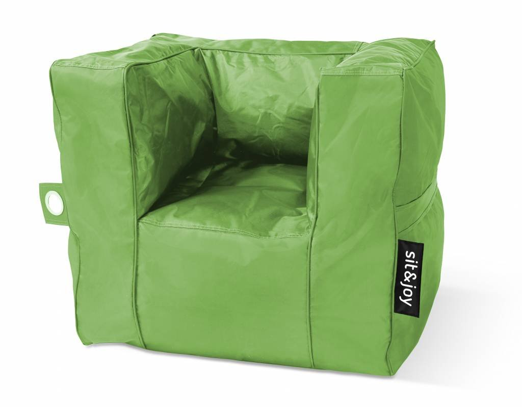 Sit En Joy Lounge Zitzak.Sit Joy Zitzak Poco Lime Amazon Co Uk Kitchen Home