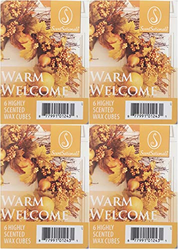 ScentSationals Warm Welcome Wax Cubes - 4-Pack
