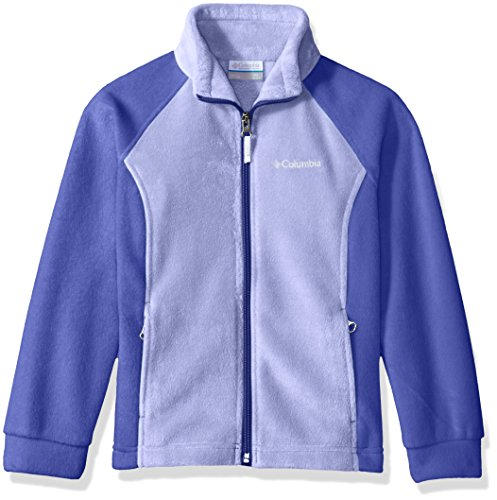 Columbia Big Girl's Benton Springs Fleece, Fairytale, Clematis Blue, (Fairy Tale Kid)