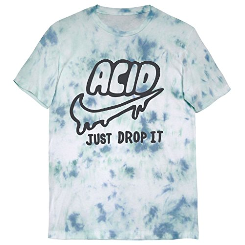 Killer Condo Acid Just Drop It Pastel Unisex Tie Dye T-Shirt - Water Shirts Acid