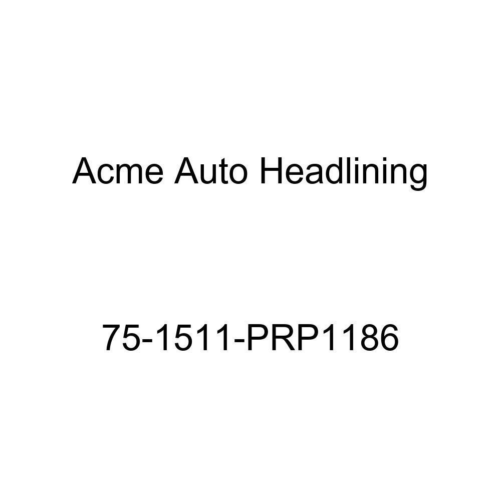 1975 Pontiac Catalina 2 Door Hardtop 5 Bow Acme Auto Headlining 75-1511-PRP1186 Buckskin Replacement Headliner
