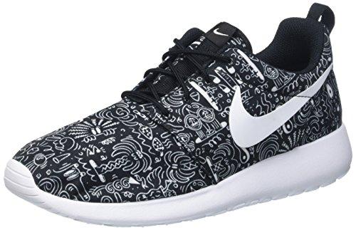 Roshe Roshe Roshe bianco Nike Nike Nike One Multicolore nero Femme Running Prem Wmns Print Chaussures De 5HHwn4Fxq