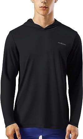 Outdoor Running Rash Guard Swim Shirts for Men Cool and Comfortable Tshirts Gray