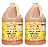 Bragg Organic Raw Apple Cider Vinegar, 128 Ounce, 2 Gallons