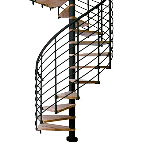 Captivating 11 Tread Spiral Staircase Kit