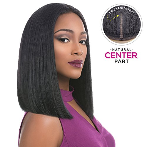 Sensationnel Synthetic Lace Front Wig Empress Edge Natural Center Part Tiara (1B)