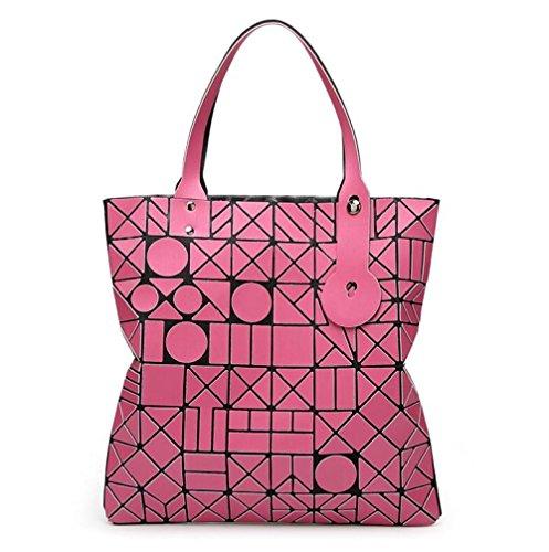 6 Style Main Sac Géométrique WLFHM Pochette Red 6 Japonais Mat Sac à Épaule Couture Main Gommage à xpwnOEtYq