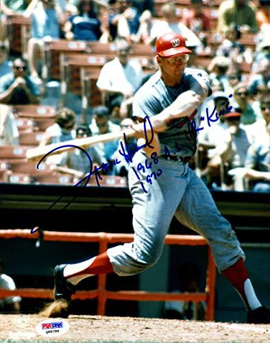 Frank Howard Autographed Signed 8x10 Photo Washington Senators 1968 AL HR King - PSA/DNA Authentic