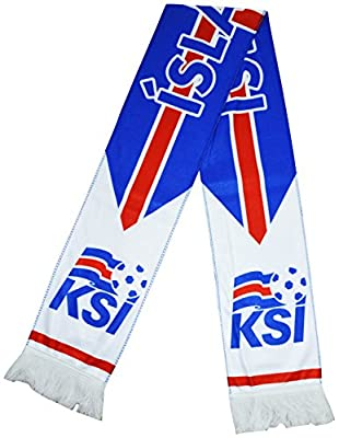 Iceland Super Fans National Team Fleece Scarf