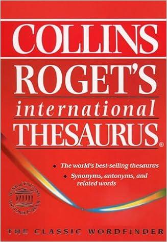 rogets international thesaurus