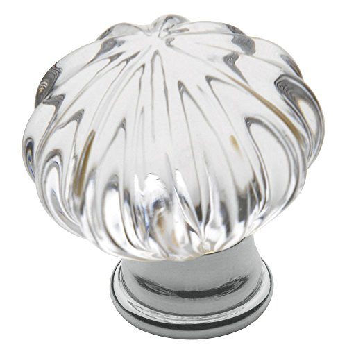 Baldwin 4327260 Crystal Cabinet Knob in Bright Chrome