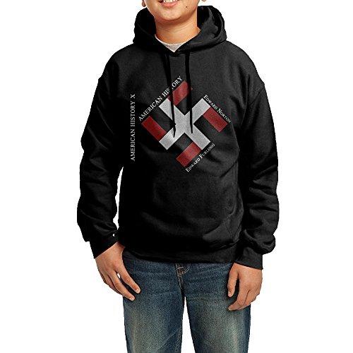 XMAS Youth American History X Logo Pullover Hooded Sweatshirt M