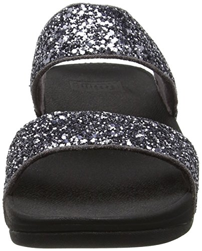 Grigio Open Toe Sandals in Fitflop peltro Glitterball Slide wq6xU1a