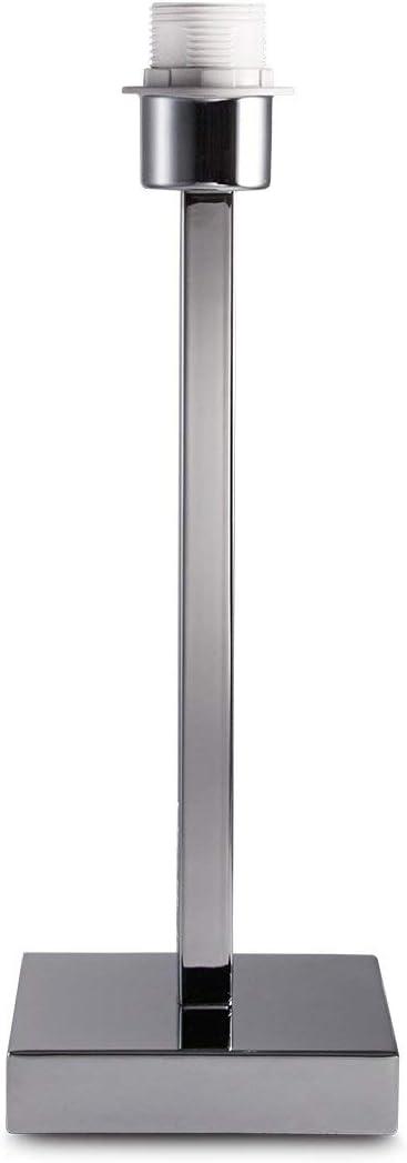 Home Sweet Home Gomez Lampe de table Chromé 40 cm: