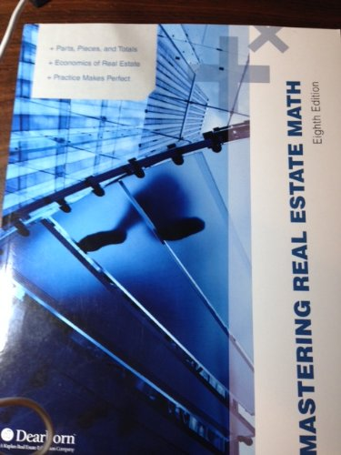 Mastering Real Estate Math - 8th Edition