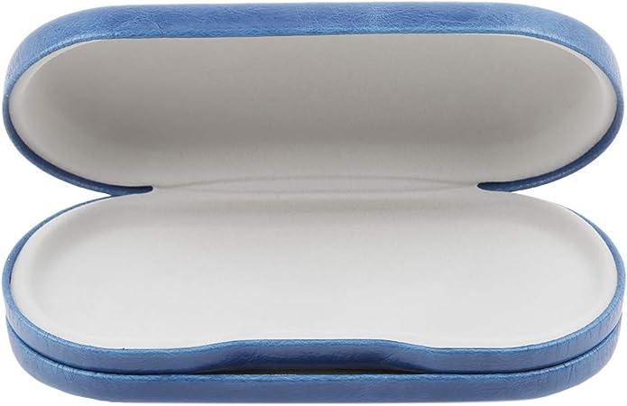 Jixing - Estuche para Lentes de Contacto y Lentes de Doble Uso con Espejo, Incluye Estuche para Lentes de Contacto, Pinzas y Dos frascos para líquidos, Azul, As The Description: Amazon.es: Hogar