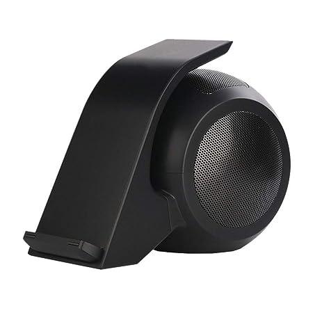 GPFDM Cargador Inalámbrico Rápido con Altavoz Bluetooth ...