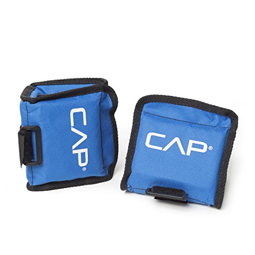 CAP Barbell Aquatic Ankle/Wrist Weights, 5 Lbs