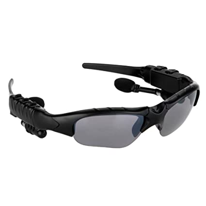 47ad814971ada Bluetooth Sunglasses Headset Headphones Earphones  Buy Bluetooth Sunglasses  Headset Headphones Earphones Online at Low Price in India - Amazon.in