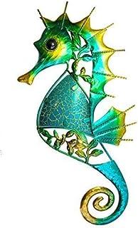 SDL Decorative Metal Glittery Wall Art 32 cm Seahorse ( 17408)  sc 1 st  Amazon.com & Amazon.com: SDL Decorative Metal and glass Wall Art 46 cm Seahorse ...