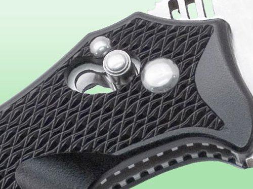 SOG Specialty Knives VL-03 Vulcan Tanto  Folding Knife, 8.375-Inch, Black by SOG (Image #8)