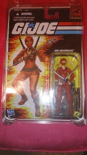 (SDCC San Diego Comic Con Exclusive GI Joe Jinx Kim Arashikage Red Versions)
