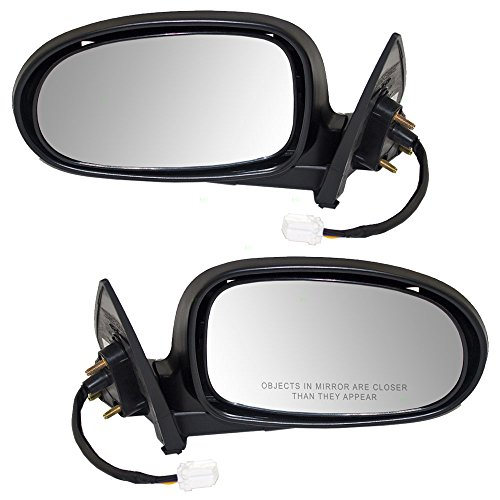 Driver and Passenger Power Side View Mirrors Heated w/Covers Replacement for Nissan Maxima 963023Y101 963013Y001 AutoAndArt