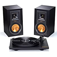 Deals on Klipsch R15PM Powered Monitor Speakers & Pro-Ject Turntable