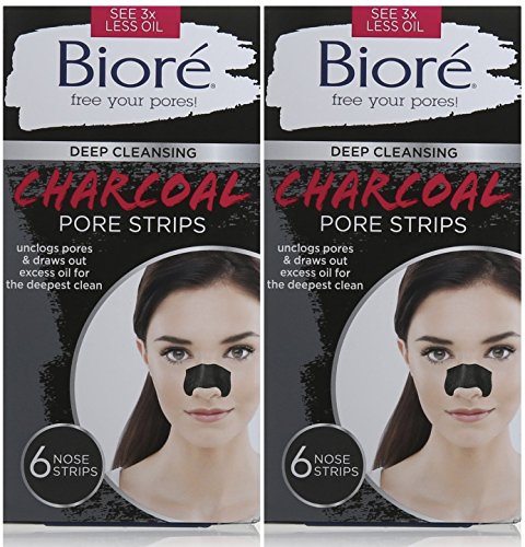 Biore Cleansing Strips Charcoal Count
