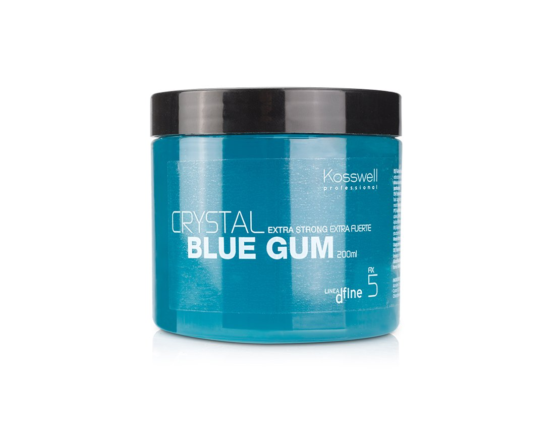 Kosswell, Gel Extra fuerte Blue Gum Fijación 5 200 ml Global Cosmetic Technology
