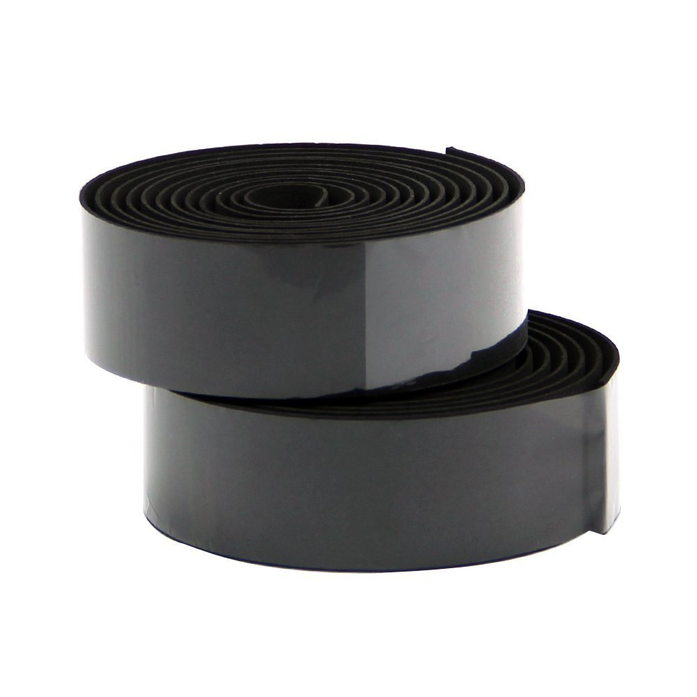 TOOGOO(R) Road Bike Bicycle Cork Handlebar Bar Grip Wrap Tape + 2 Bar Plugs-Black