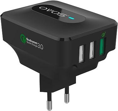 TUTUO USB Ladegerät 25W 3 Ports Wandladegerät Quick: Amazon
