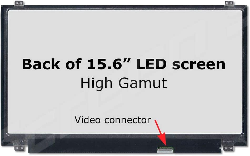 BRIGHTFOCAL New LCD Screen for LP156WF9 SPL9 SP L9 15.6 Non-Touch IPS FHD 1080P WUXGA Slim LED Screen Replacement LCD Screen Display