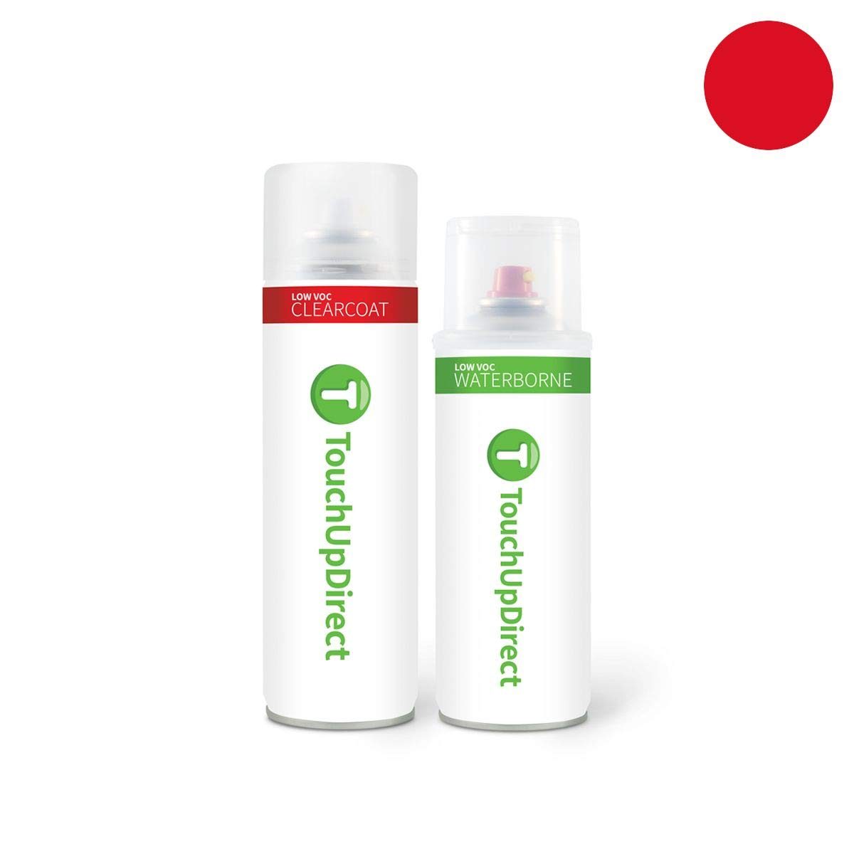 TouchUpDirect Exact Match Automotive Touch Up Paint Compatible with Ford Race Red (PQ) Aerosol - Essential Package