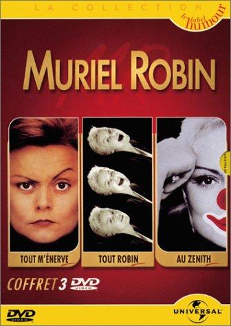 (Coffret Muriel Robin 3 DVD : A l'Olympia, tout m'énerve / Au Zénith, toute seule comme une grande / Tout Robin au Casino de Paris)