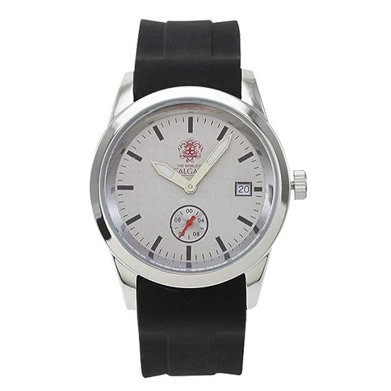 Relojes Calgary Premium Soho. Reloj Gama Premium cronógrafo de Mujer con Correa de Silicona Negra y Esfera Color Gris.: Amazon.es: Relojes