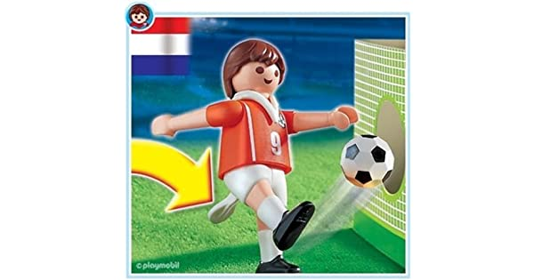 Amazon.com: Playmobil 4713 Países Bajos jugador de fútbol ...