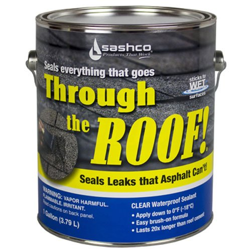 Sashco Through The Roof Sealant Brush Grade 1 Gallon