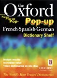 The Oxford Pop-up French Spanish German Dictionary Shelf