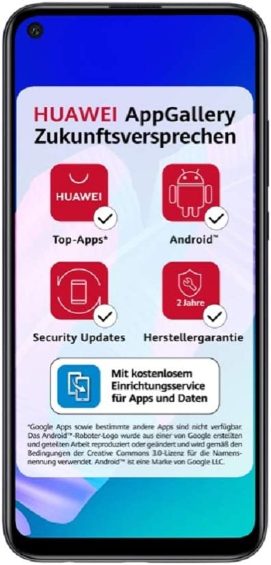 Huawei P40 Lite E Smartphone 64 Gb Midnight Black Elektronik