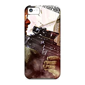 Top Quality Case Cover For Iphone 5c Case With Nice Call Of Duty 2 Appearance