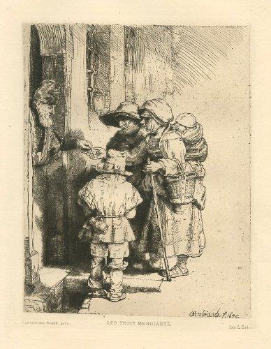 Rembrandt Print Fine Art - Rembrandt van Rijn (after)