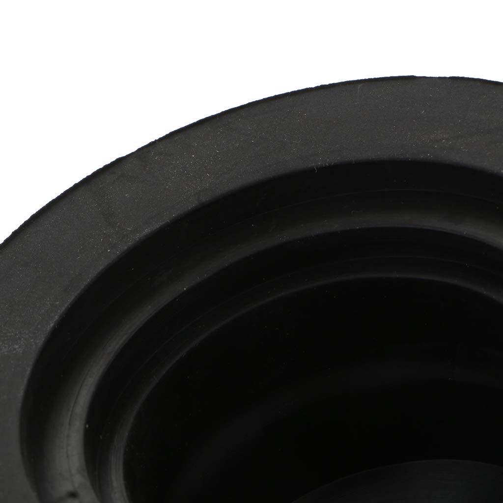 75X55mm B Blesiya Couvercle de Joint en Caoutchouc Cache de Phare de Voiture